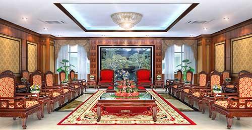 Thiết kế phòng khánh tiết cần chú ý đến đồ nội thất