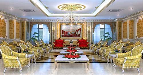 Thiết kế nội thất phòng khánh tiết cần chú ý đến cách phối hợp màu sắc