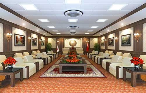 Thiết kế phòng khánh tiết cần chú ý đến yếu tố ánh sáng