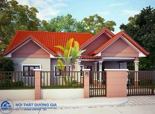 Kiến trúc sư chuyên nghiệp luôn biết cách phối màu sơn mặt tiền nhà