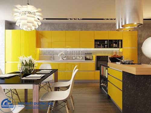 Mẫu nhà bếp đẹp đơn giản nhưng ấn tượng