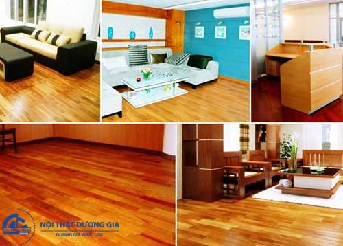 Lợi ích của việc làm mới nội thất bằng cách sơn gỗ tại nhà