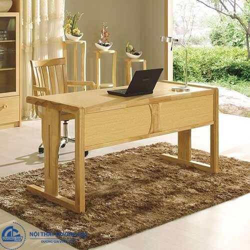 Mẫu bàn giám đốc gỗ sồi