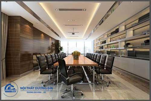Mẫu nội thất phòng họp đẹp, cao cấp, sang trọng PH-DG23