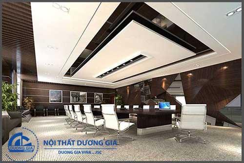 Mẫu nội thất phòng họp hiện đại và vô cùng đẹp PH-DG22