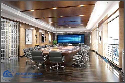 Mẫu nội thất phòng họp sang trọng và đẹp PH-DG24