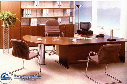 Các kiểu bàn làm việc đẹp chữ U cho văn phòng