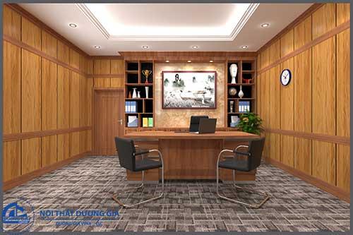 Các dự án đã triển khai rất quan trọng đối với công ty thiết kế thi công nội thất phòng giám đốc