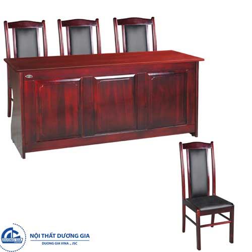 Bàn ghế hội trường Hòa Phát đẹpBHT12DH2+GHT11