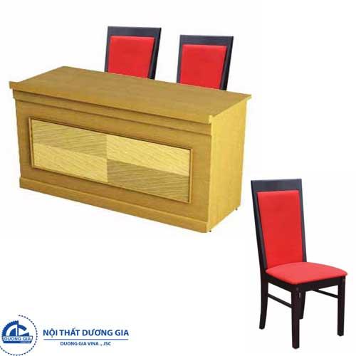 Bàn ghế hội trường giá rẻ Hòa Phát BHT12DV1+GHT01