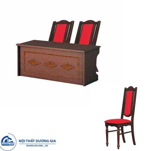 Bàn ghế hội trường Hòa Phát BHT12DH1+GHT04
