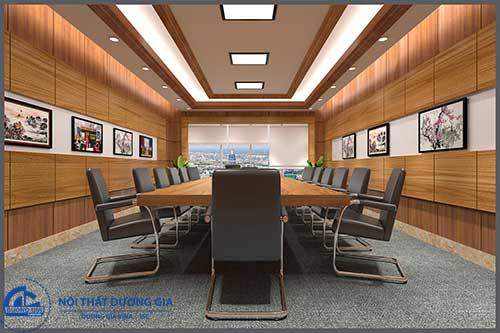 Muốn tạo nên không gian hoàn hảo phải nắm được tiêu chuẩn thiết kế phòng họp