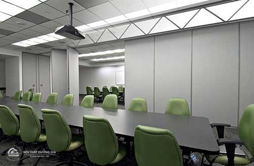 Chọn vách ngăn di động văn phòng giúp tiết kiệm diện tích, chi phí