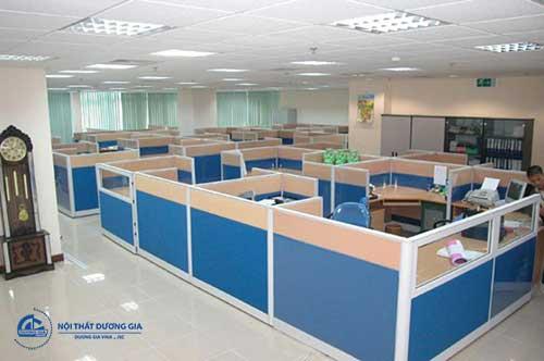 Vách ngăn văn phòng Hà Nội tạo sự hoàn thiện cho không gian