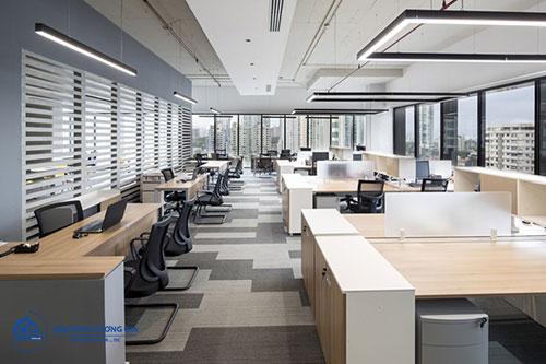 Báo giá thiết kế nội thất văn phòng phụ thuộc vào đơn vị thiết kế