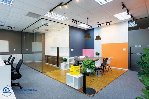 Giá thiết kế nội thất văn phòng phụ thuộc vào yêu cầu thiết kế