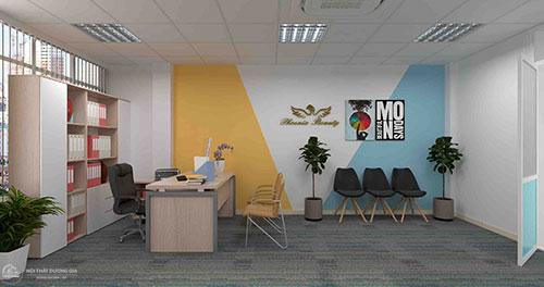 Thiết kế nội thất văn phòng đẹp, mang tính đồng bộ
