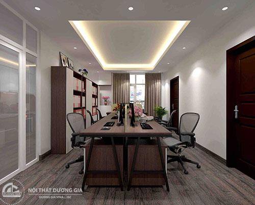 Thiết kế nội thất văn phòng hiện đại với những sản phẩm đa năng