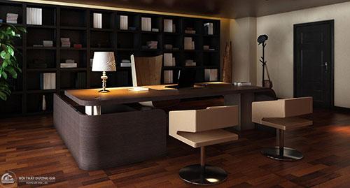 Thiết kế phòng Giám đốc cần chú ý tới đồ nội thất