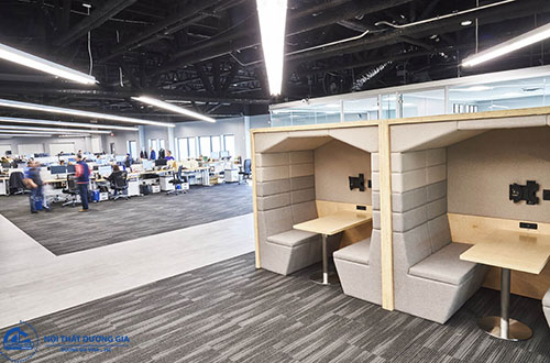 Thiết kế thi công nội thất văn phòng phù hợp với doanh nghiệp