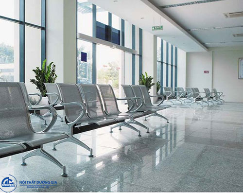 Ghế chờ inox bệnh viện