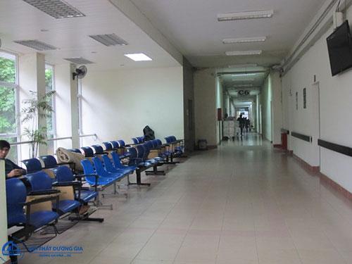 Ghế chờ nhựa bệnh viện