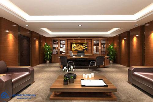 Lựa chọn đồ nội thất phòng Giám đốc đẹp, sang trọng