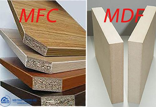 Vật liệu MDF và MFC là gì?