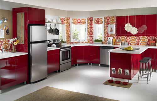 Sử dụng màu sắc trong thiết kế bếp tuổi Mậu Ngọ