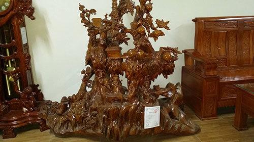 Cách nhận biết gỗ gù hương