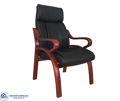 Mẫu ghế phòng họp gỗ tự nhiên giá rẻ GH11