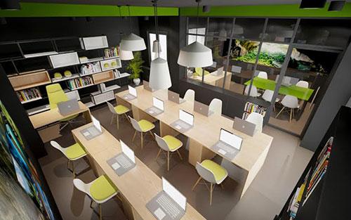 Chọn đơn vị thiết kế nội thất văn phòng tại Hải Phòng uy tín
