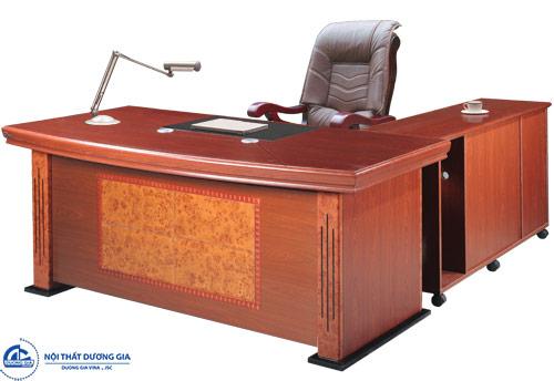 Kích thước bàn làm việc Giám đốc ảnh hưởng gì tới chủ nhân?