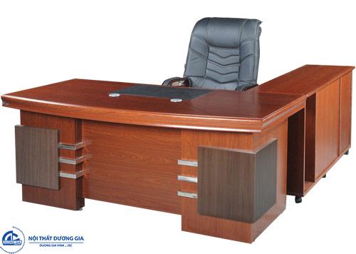 Kích thước bàn làm việc Giám đốc ảnh hưởng đến tinh thần, cảm xúc của chủ nhân