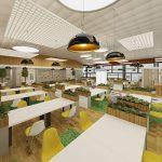 Làm thế nào để thiết kế mô hình văn phòng làm việc hiện đại?