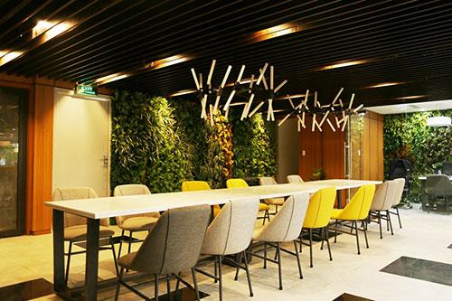 Mô hình thiết kế văn phòng xanh green office là gì