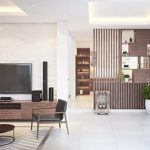 Đơn vị thiết kế, thi công vách ngăn gỗ phòng khách chất lượng, uy tín