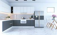 Cách trang trí màu sắc cho không gian nhà bếp đẹp, chuẩn phong thủy