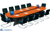 Top 5 mẫu bàn họp hình elip thiết kế đẹp, hiện đại nhất hiện nay