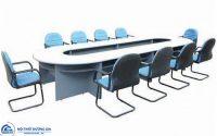 Tại sao bàn họp hình oval luôn được nhiều doanh nghiệp chọn lựa?