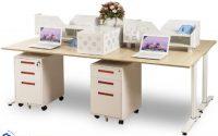 Những yếu tố tác động tới việc chọn kích thước bàn làm việc nhân viên