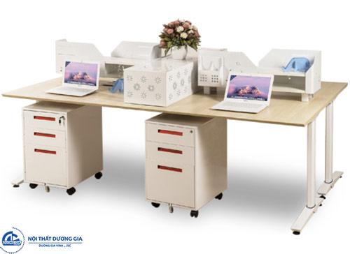 Chọn kích thước bàn làm việc nhân viên phù hợp với diện tích không gian