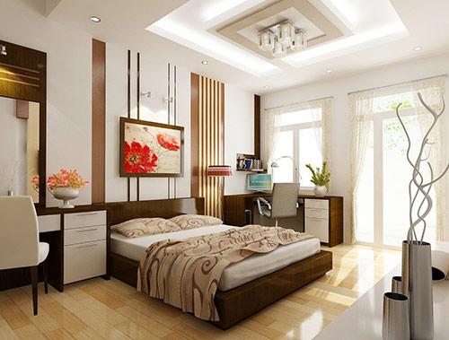 Trang trí phòng ngủ với tranh ảnh