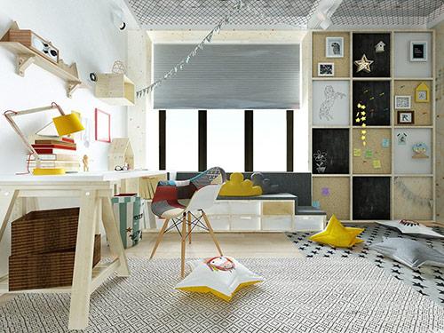 Các cách trang trí phòng ngủ sáng tạo