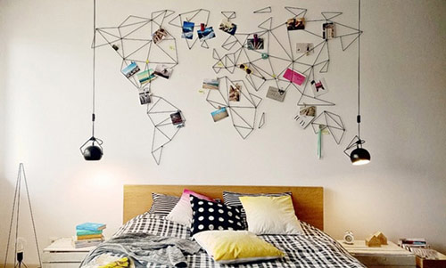 Các cách trang trí phòng ngủ: Những đồ vật dễ thương