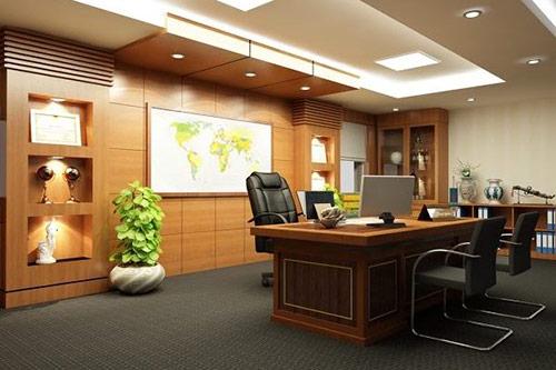 Tư vấn cách bố trí bàn làm việc của Giám đốc chuẩn nhất