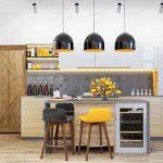 Tư vấn cách bố trí phù hợp cho không gian phòng bếp nhỏ