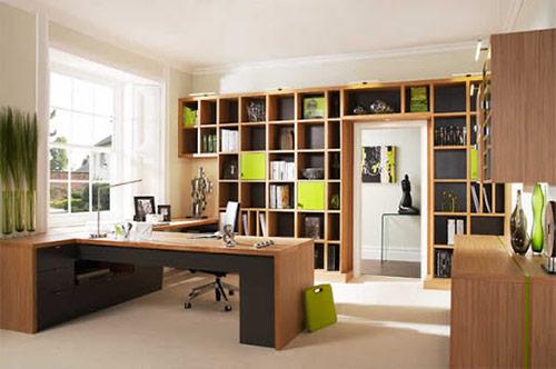 Thiết kế phòng làm việc cá nhân cần chú ý tới màu sắc