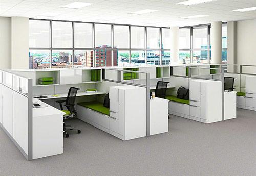 Tiêu chuẩn thiết kế văn phòng nhỏ về màu sắc, ánh sáng