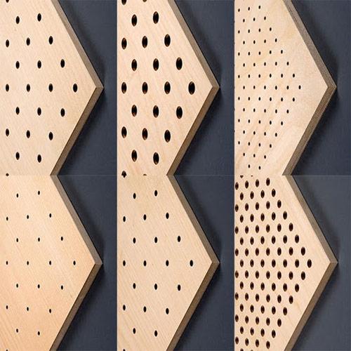 Báo giá thi công vách gỗ tiêu âm cho hội trường